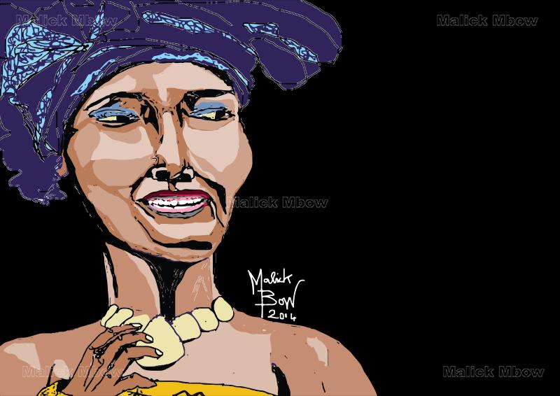 Coumba Gawlo Seck par Malick Mbow