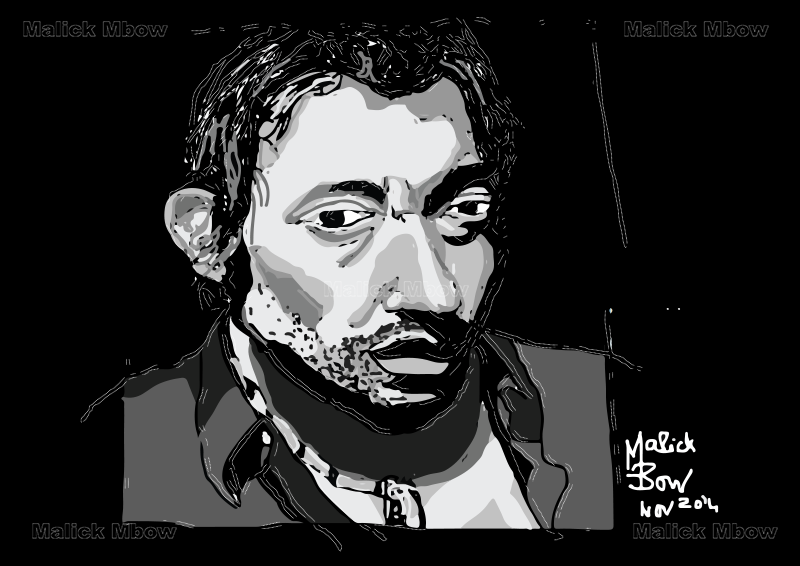 Serge Gainsbourg par Malick Mbow
