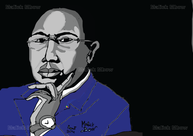 Son Excellence le Président Macky Sall par Malick Mbow